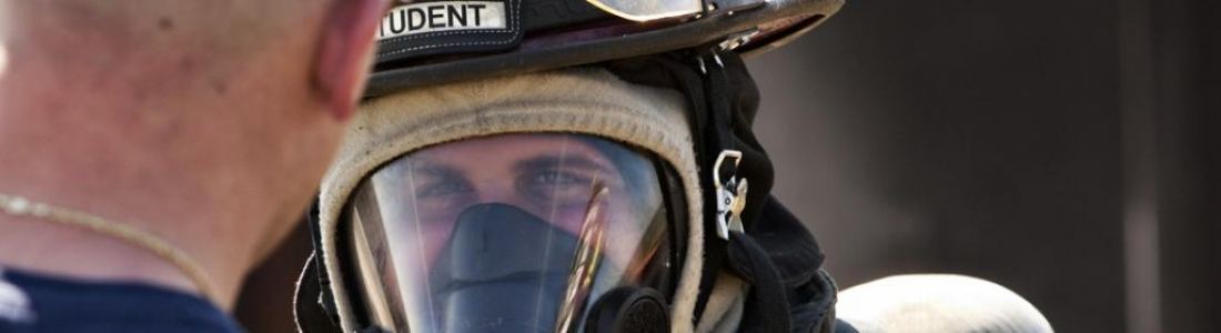 image of fire safety student