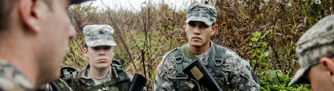 image of ROTC cadets